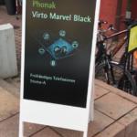 Kundenstopper Digital wetterfest